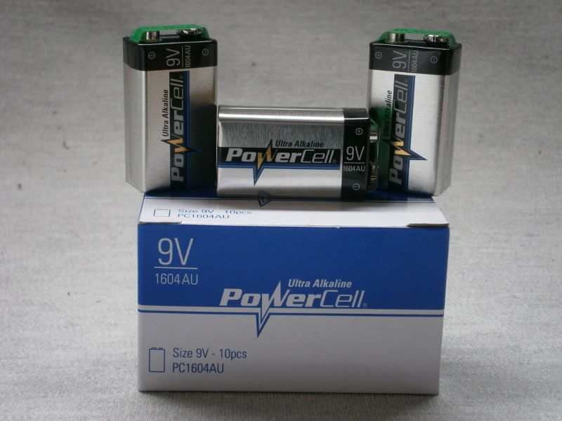 Batteries- 9volt Square Battery
