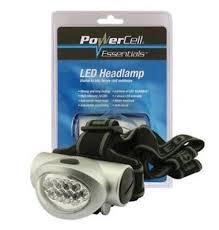 Battery Powered Head Lamp