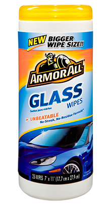 Armor All Glass Wipes - 25's