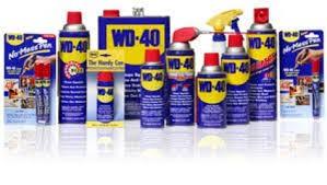 WD40 Aerosol Range